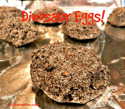 how to make dinosaur eggs - preschool