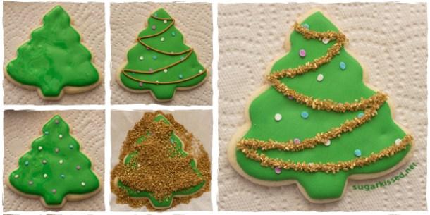 holiday cookies, Christmas tree cookies, Christmas cookies