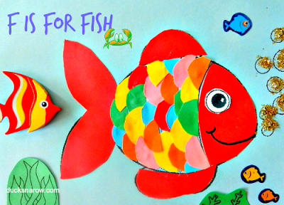 fish, preschool crafts, kids, under the sea, ocean, STEM, ece