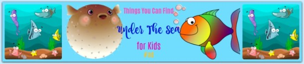 Under the Sea for #kids #ad