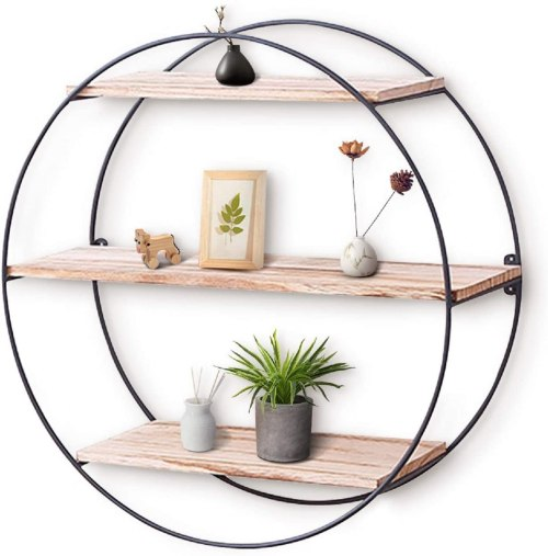 Wall mounted floating shelves #ad