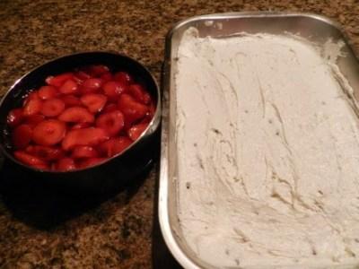 strawberry Jello pretzel salad recipe