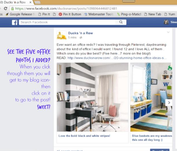 Facebook tips, social media