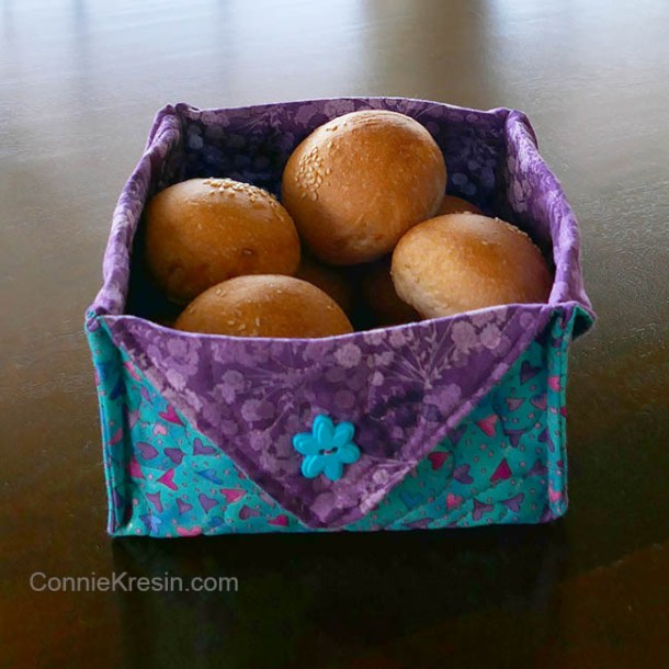 DIY fabric baskets for storage #crafts #baskets