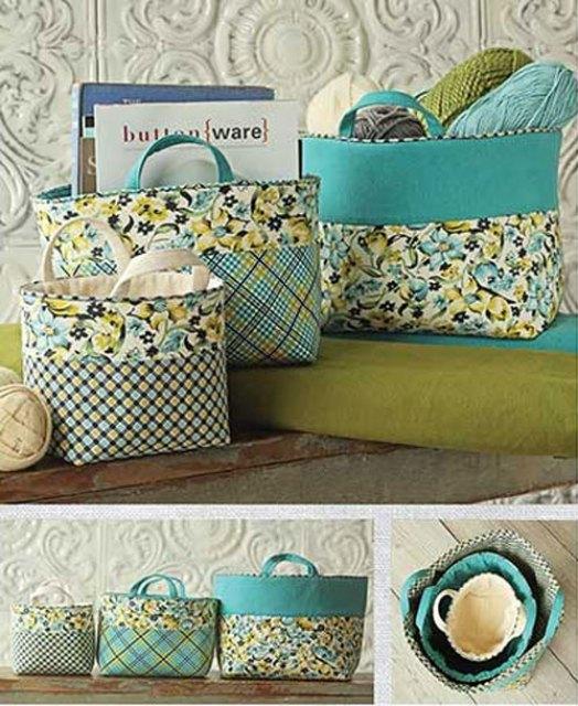 16 beautiful DIY craft baskets