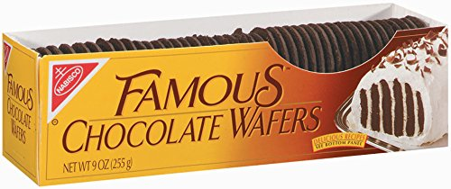 chocolate wafers for crust #AD