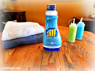 safe laundry detergent