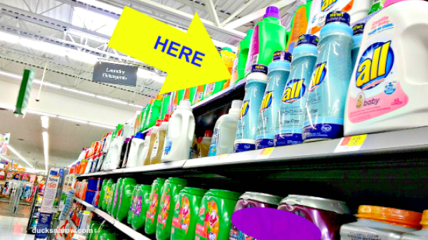 clean laundry, sulfate-free, detergent