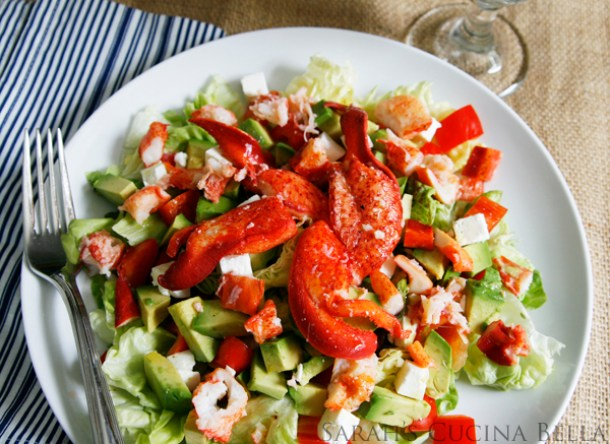 lobster salad, lobster recipes