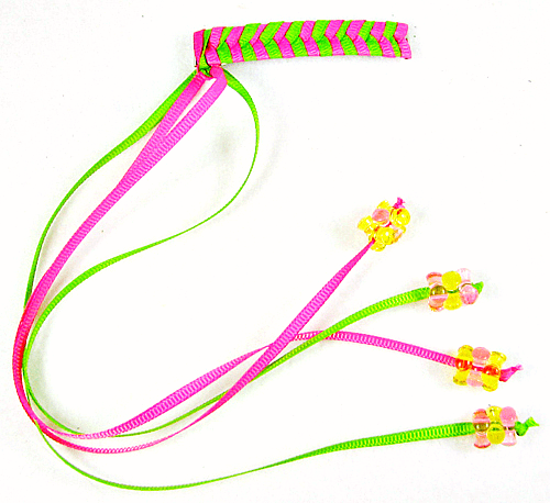 Retro hair barrettes #crafts