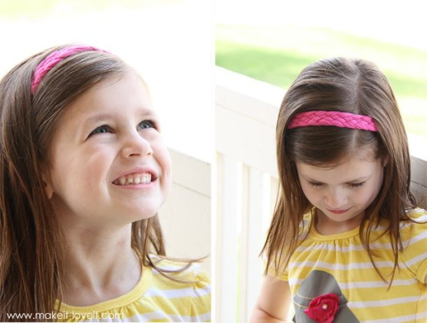 Ribbon headband #crafts