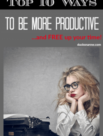 keys to success - 10 ways to be more productive and free up your tiime