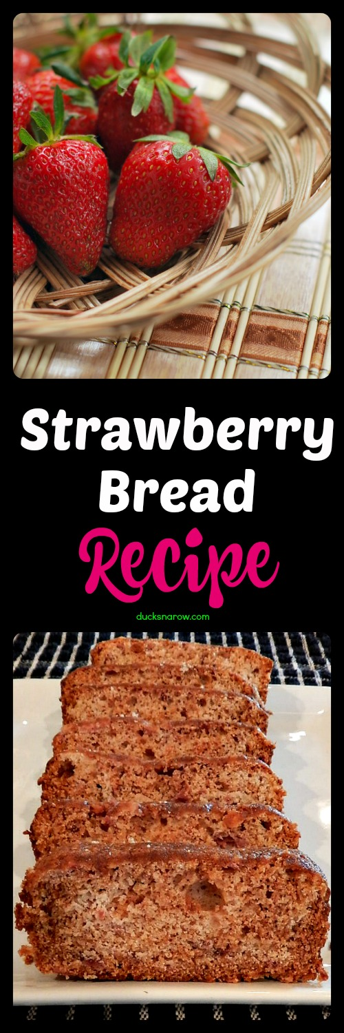recipe for strawberry sweet bread