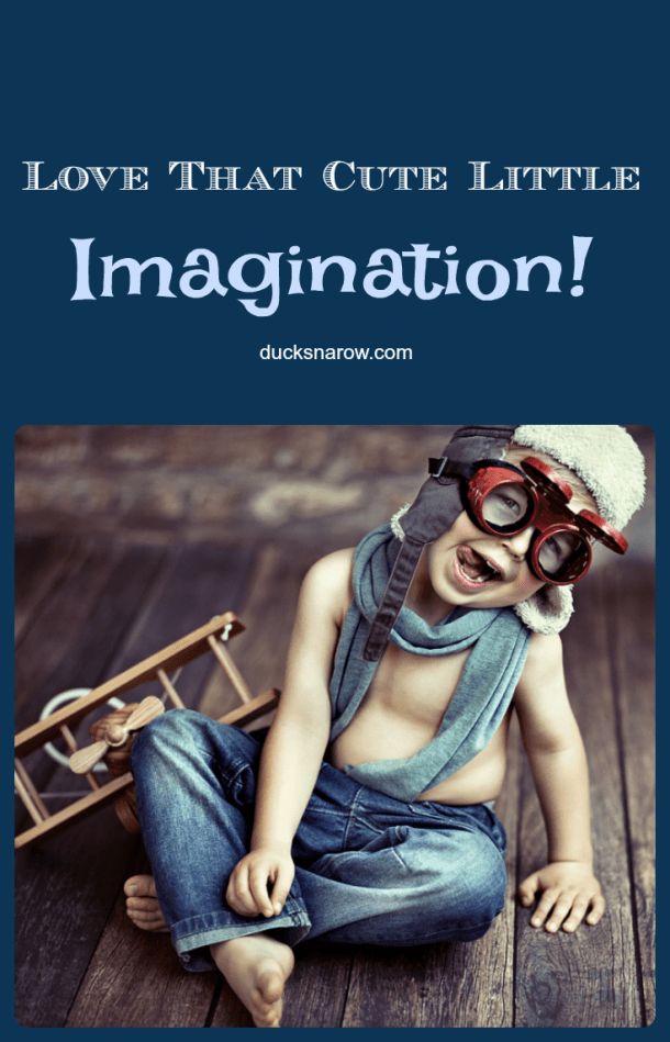 Imaginative play takes children to the heights of possibilities!