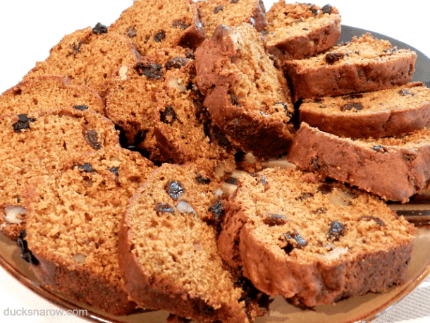 Pumpkin raisin walnut sweet bread #recipes