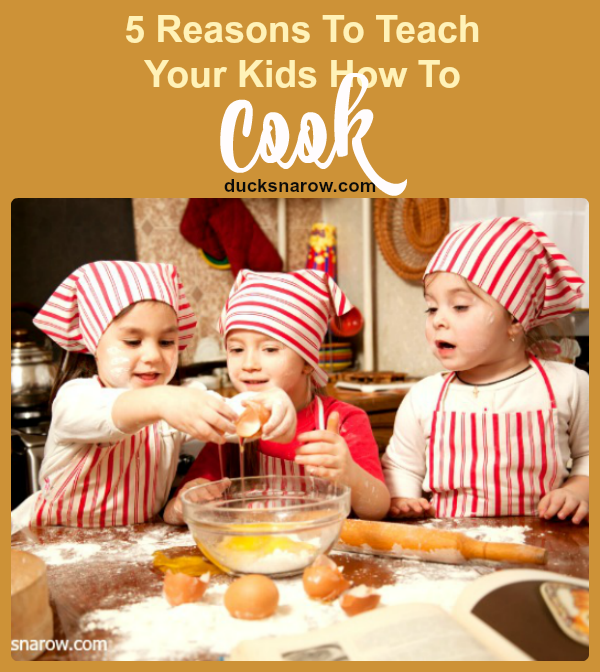 More fun than you can imagine - teach your kids how to cook! #familyfun