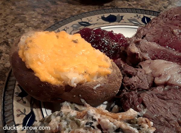 Twice Baked Potatoes With Bacon Sour Cream and Cheddar ...