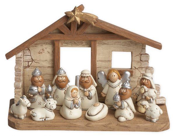 Kids nativity scene with movable parts #nativity #kids
