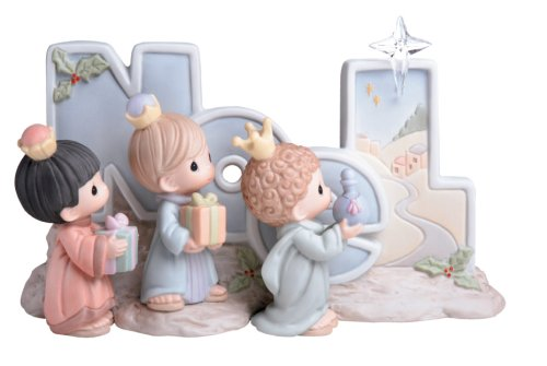 Precious Moments one piece 3 kings figurine called Noel. #nativity #Christmasgifts