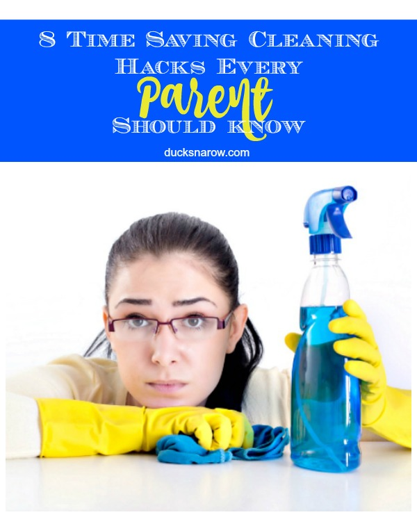 8 Cleaning Hacks That Every Parent Should Know - Ducks 'n a Row