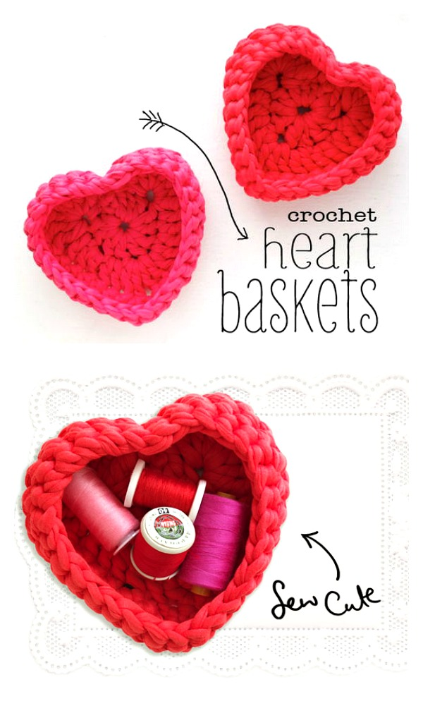 12 Inspiring Heart Crochet Patterns For Valentines Day Ducks N A Row