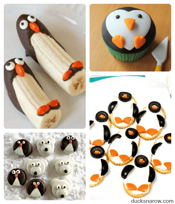 Reciipes inspired by a love for adorable penguins #food