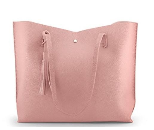 pink tote bag #ad