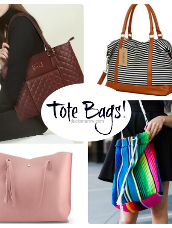 Tote bags for busy moms #ad