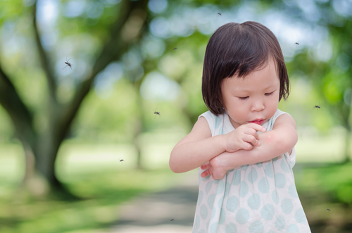 Some children are allergic to insect bites #health