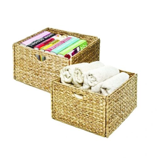 Storage baskets are perfect for your pet's stuff
