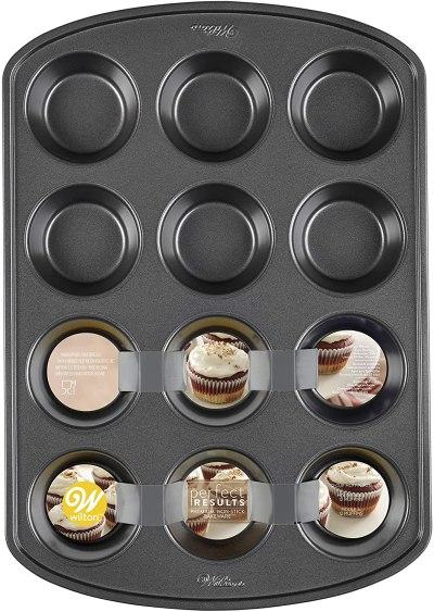 Wilton non stick muffin pan #ad