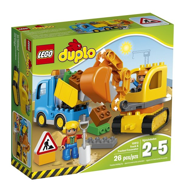 LEGO DUPLO 10812 Town Truck & Tracked Excavator Best Toy For 1 – 4 year olds #ad
