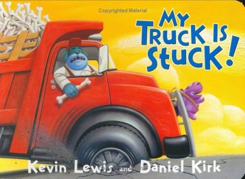 My Truck Is Stuck book for little kids #ad
