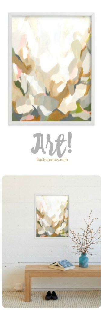 See your piece of art in a room on the Minted website to get a feel for what it will look like in your home. #ad