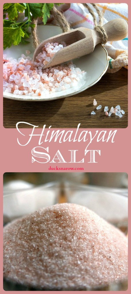 Pretty Himalayan Pink salt has many uses and forms for health - hear what Dr. Oz had to say on his show about it! #health #ad