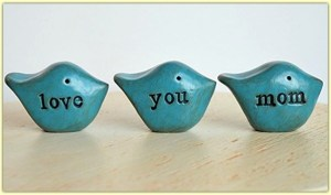 "Blue Birds say ""Love You Mom"" #ad"
