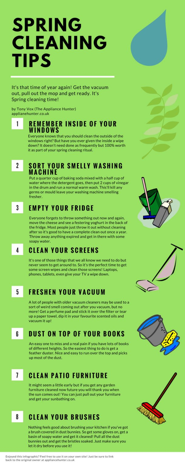 8 tips to help you get through your spring cleaning with ease #tips
