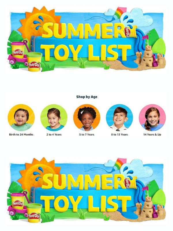 Fabulous collection of playthings and gifts for #kids on Amazon's Summer Toy List! #affiliate