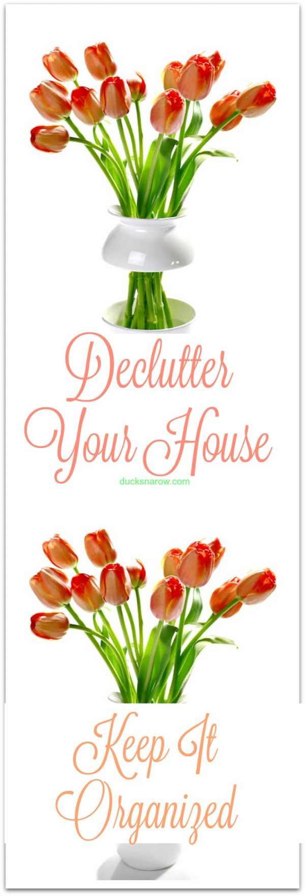 How to declutter your house and keep it organized #tips