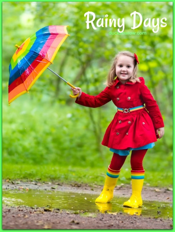 Summer fun does not need to end just because it is raining! Get ready for rainy day activities! #familyfun