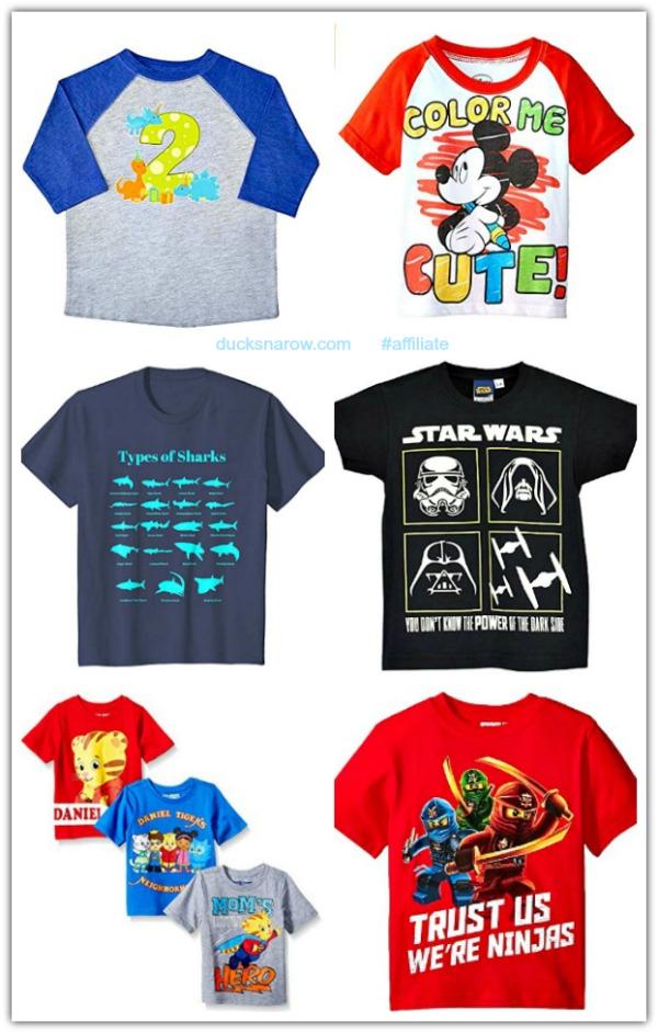 Great little boys' t-shirts
