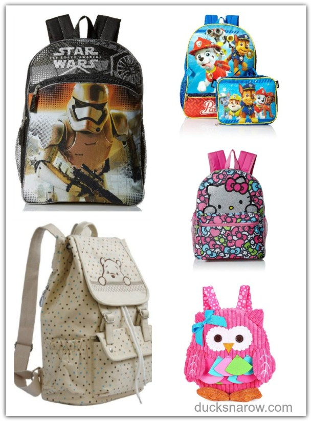 Match up your child's backpack with a nice lunch box and school supplies of the same theme #affiliate