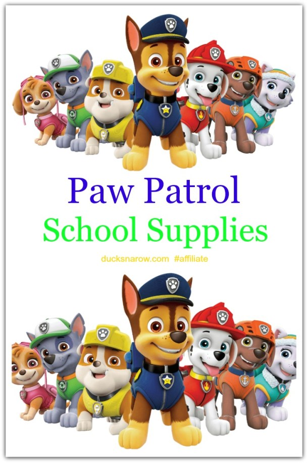 Best Paw Patrol school supplies #affiliate