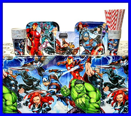 Avengers superheroes are so popular for kids birthday parties! #kids