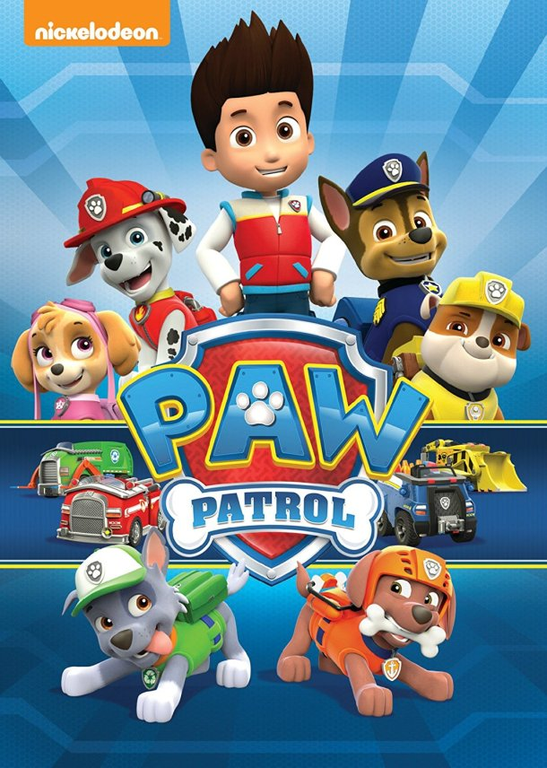 Paw Patrol DVD's make great gifts #affiliate
