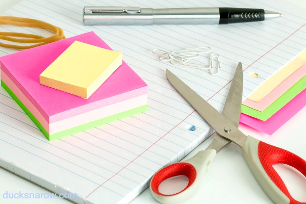 Colorful sticky notes #tips