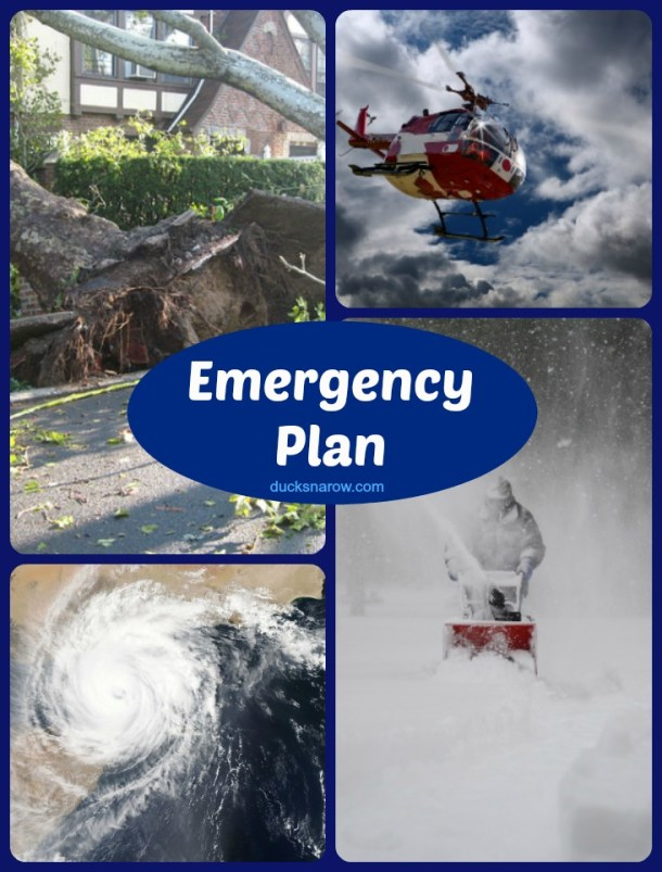 Make a family preparedness plan in case of emergencies #tips