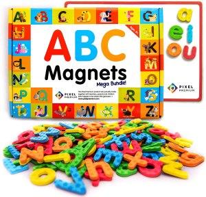 Alphabet ABC magnets set for kids