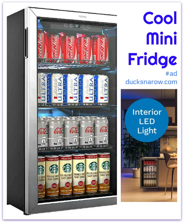Really cool mini fridge - perfect for office, rec room or break room  #ad