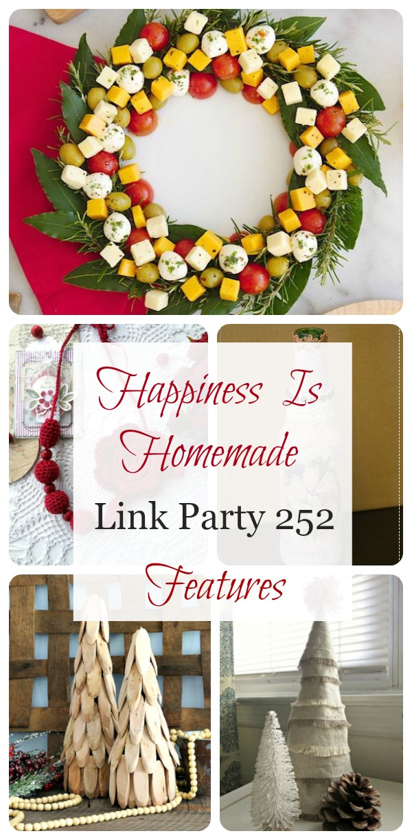 Happiness Is Homemade Link Party 252 features